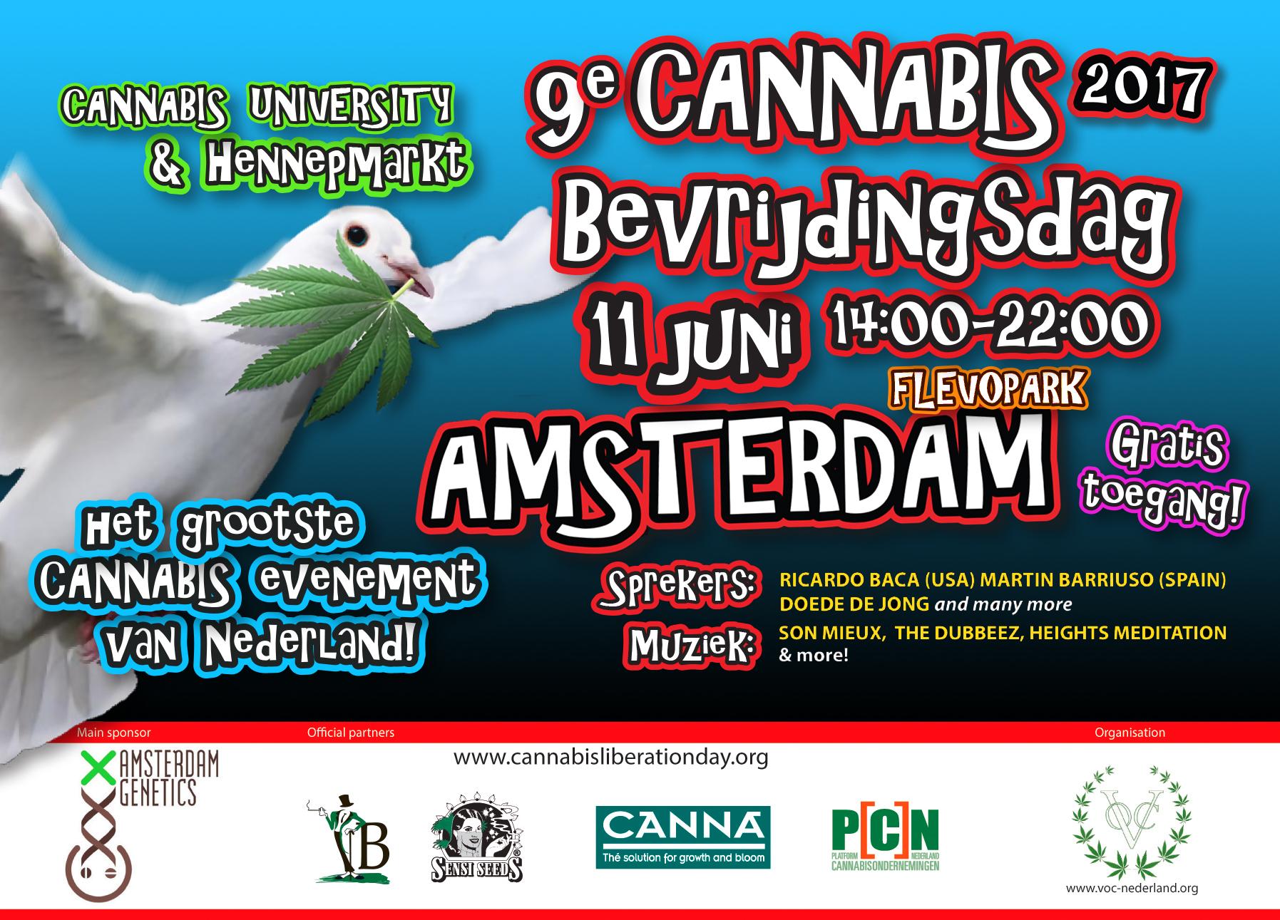 Cannabis Bevrijdingsdag 2017
