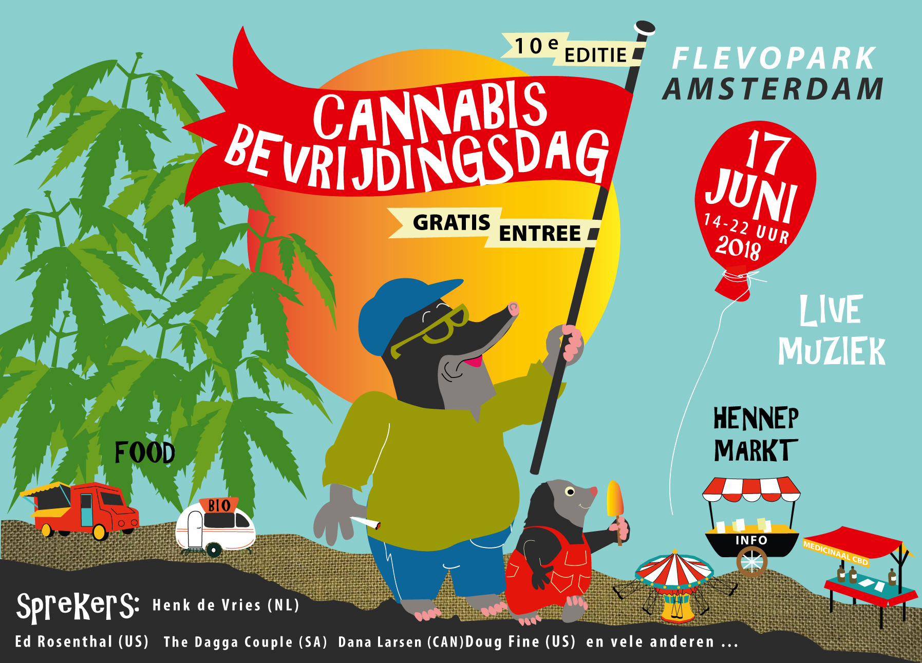 Cannabis Bevrijdingsdag